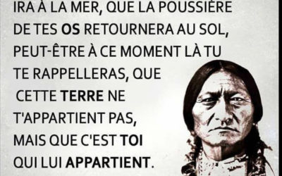#Humeur – Inspiration : Paroles d'un chef Indien